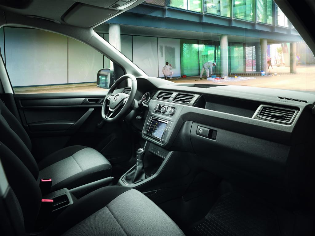 Volkswagen Caddy interieur
